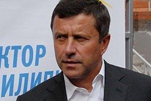 Пилипишин просит Тягныбока увести людей из ОИК 223