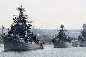 Росія почала масштабні навчання в Чорному морі
