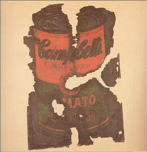 Виталий Комар, Александр Меламид. «Пост-арт №1 (Уорхол)», 1973