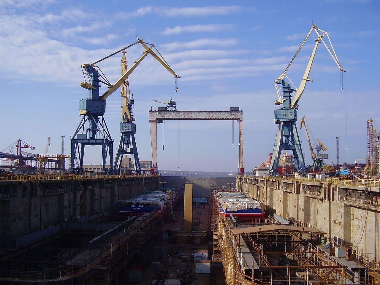 Док заводу 'Океан', м. Миколаїв