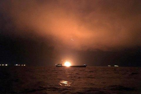 Сгоревшие в Керченском проливе танкеры незаконно перевозили газ в Сирию, - МинВОТ