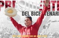 На президентських виборах у Перу переміг шкільний вчитель