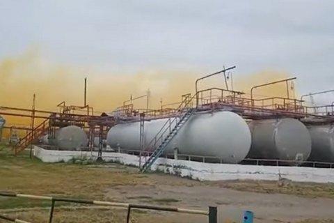 На хімзаводі в Рівному сталася розгерметизація паропроводу на агрегаті виробництва азотної кислоти