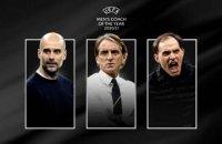 УЄФА оголосив номінантів на звання найкращого тренера року