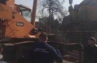 В центре Киева прекратили незаконное строительство многоэтажки