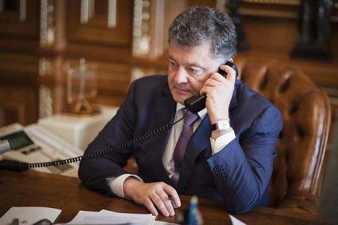 Порошенко и Путин провели телефонный разговор