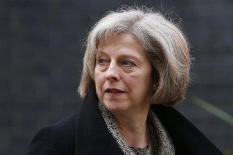 """Британія не буде домагатися від ЄС """"часткового"""" членства в блоці, - Тереза Мей"""