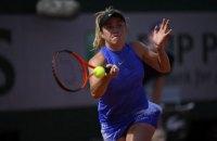 Свитолина обыграла 290-ю ракетку мира и вышла в четвертьфинал Ролан Гаррос