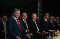 Порошенко выступил на церемонии запуска газопровода TANAP