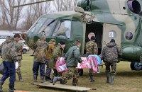 П'ять військових були поранені на Донбасі з початку дня