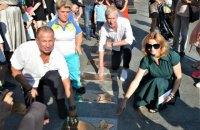 Алея зірок у Києві поповнилася трьома легендами українського спорту