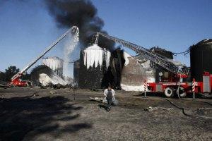 На нафтобазі під Васильковом знову почалася пожежа
