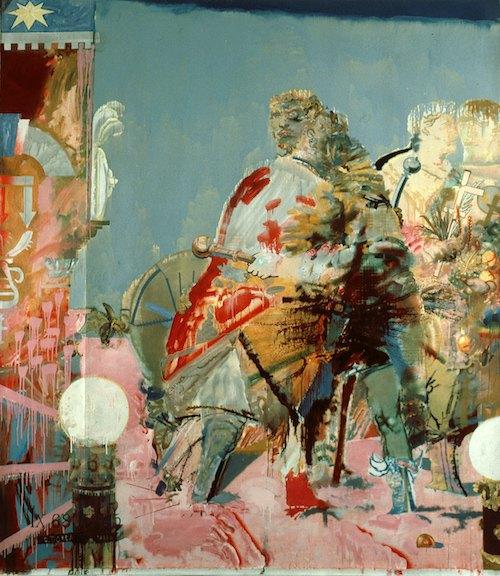 Олег Тистол. «Воссоединение», 1988