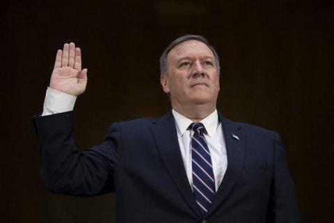 Майк Помпео принес присягу вкачестве госсекретаря США