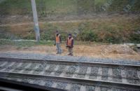 В Москве поезд столкнулся с электричкой, трое постадавших