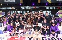 """""""Лос-Анджелес Лейкерс"""" стали чемпионами НБА в 17-й раз"""