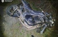 У Львівській області двоє поліцейських розбилися насмерть на мотоциклі