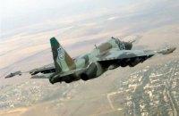 В Хмельницкой области Су-25 загорелся на взлете