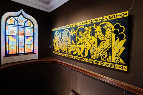 Одеський художній музей презентував роботу Романа Мініна, що перемогла на конкурсі OFAM WALL