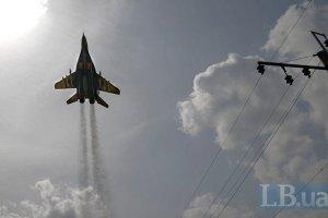 """Авиация уничтожила два танка и установку """"Град"""" у Луганского аэропорта"""