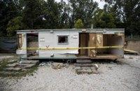Полиция Рима разогнала многолетний лагерь ромов