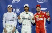 """Формула-1: дублем команди """"Мерседес"""" закінчилася кваліфікація завершального етапу сезону - Гра-прі Абу-Дабі"""
