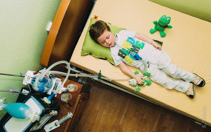 Пациент выездной паллиативной детской бригады, Львов