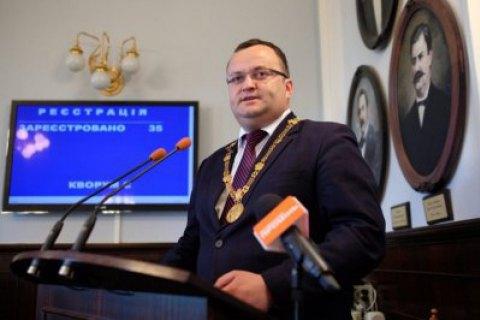 Олексій Каспрук зупинив дію двох рішень міської ради