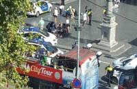 МИД проверяет информацию о наличии украинцев среди пострадавших в результате теракта в Барселоне