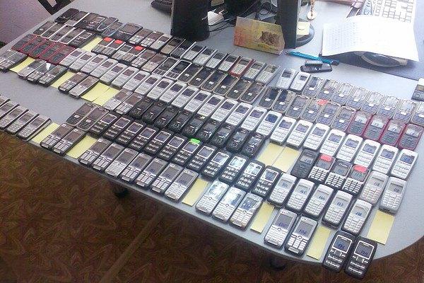 Арест мобильных мошенников