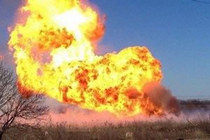 Біля Авдіївки через обстріл загорівся газопровід