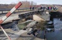 У Тернопільській області обвалився міст через Серет