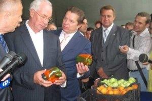 Азаров собрался кормить страну лишь украинскими овощами