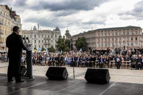 Порошенко розповів про поправки до Конституції щодо статусу Криму