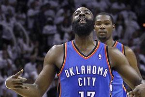 НБА. Оклахома выходит вперед