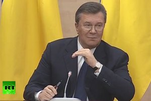 """Янукович - нынешней власти Украины: """"Конец уже ясен. Уйдите!"""""""