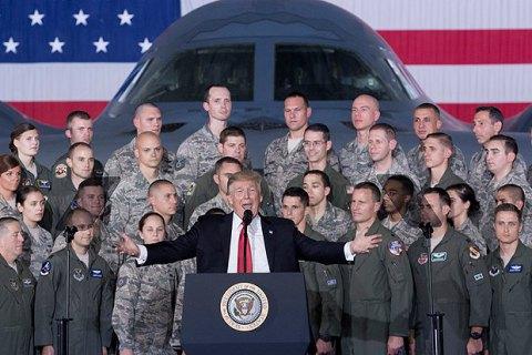 Трамп запропонує Конгресу збільшити оборонний бюджет на 2020 рік до $750 млрд