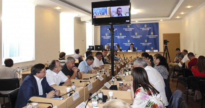 Засідання Ради суддів, Київ, 21 червня 2019