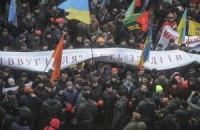 Протестующие шахтеры считают, что решить их проблемы сможет только президент Украины