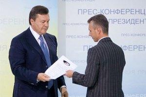 Янукович уволил Хорошковского с должности первого вице-премьера