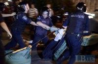 Милиция заявила, что не сносила палатки на Майдане