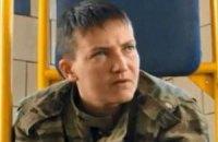 Савченко описала подробности ее похищения в письме российскому омбудсмену (ДОКУМЕНТ)
