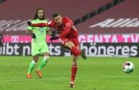 Левандовскі третім в історії забив 250 голів у Бундеслізі
