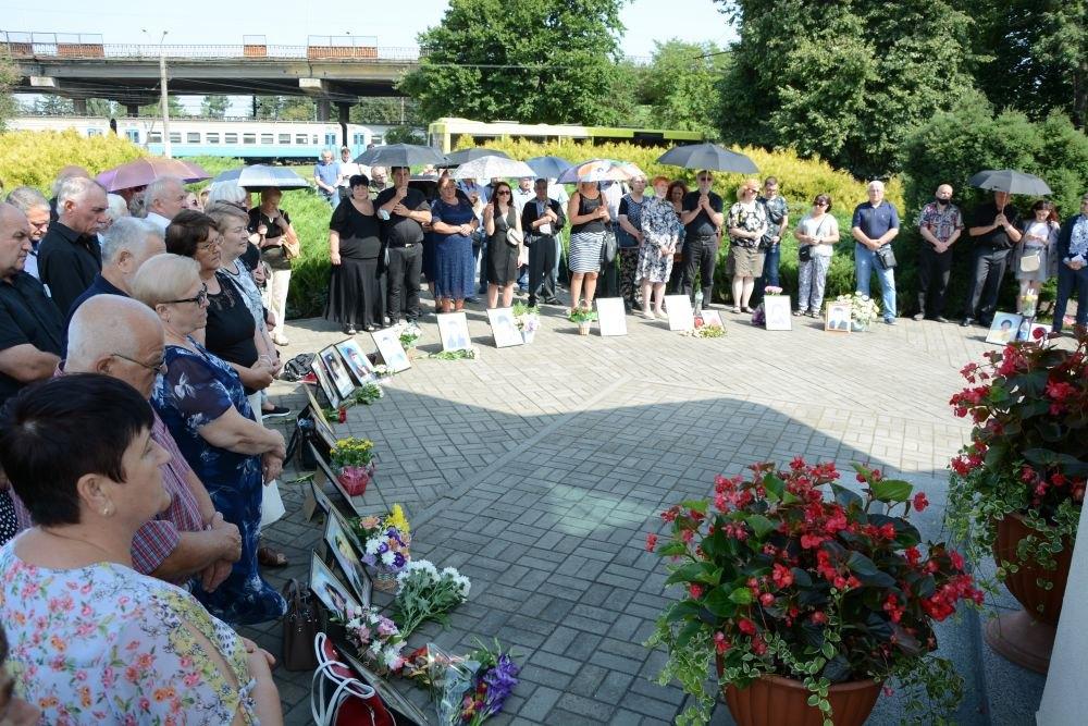 Поминальна служба за жертвами трагедії на Скнилові, 27 липня 2021 року