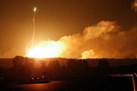 Германия предоставила ГосЧС 100 комплектов средств индивидуальной защиты после пожара на складе боеприпасов