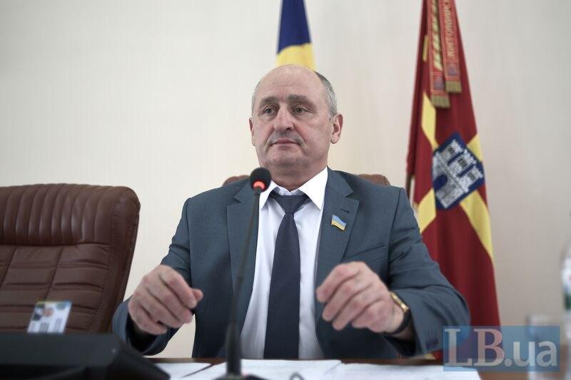 Голова Житомирської облради Володимир Ширма
