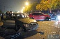 У Києві через лихача сталася аварія, винуватець зник