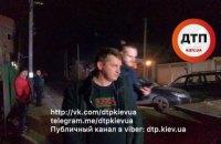 Пьяный водитель совершил ДТП в Ирпене, он может быть сотрудником Минобразования