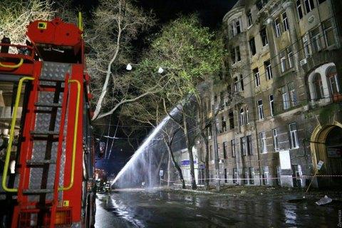 Дело о пожаре в одесском колледже ушло в суд