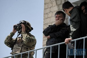 Українські військові знищили танк терористів під Слов'янськом, - Аваков